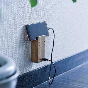 【オンライン限定】TAPKING USB WALL AC2個 3.4A USBポート ベージュウッド