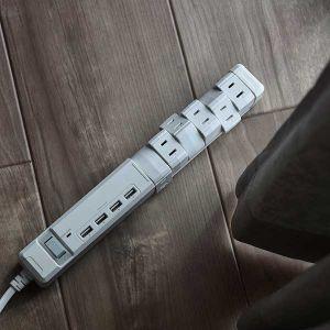 【オンライン限定】TAPKING USB AC6個口 4.8A USB4ポート ホワイト