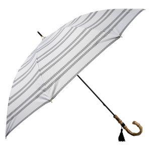 晴雨兼用長傘 レテボーダー ホワイト