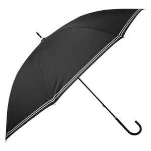 晴雨兼用長傘 ダブルテープ ブラック