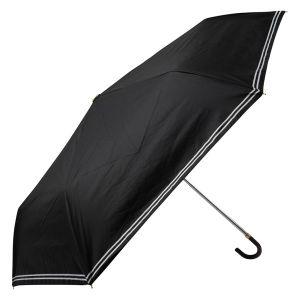 晴雨兼用ミニ傘 ダブルテープ ブラック