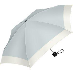 バイカラー切継 折り畳み傘 サックス