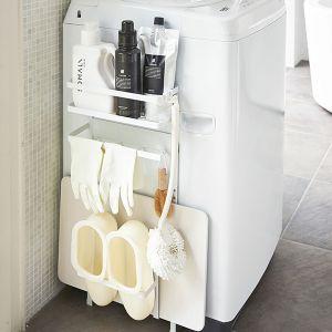 【オンライン限定】tower 洗濯機横マグネット収納ラック ホワイト