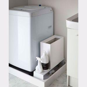 【オンライン限定】tower 伸縮洗濯機排水口上ラック ホワイト