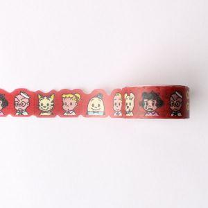 OSAMU GOODS ダイカットマスキングテープ レッド