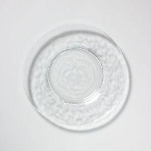 ガラスリムプレート 24cm / 東洋佐々木ガラス