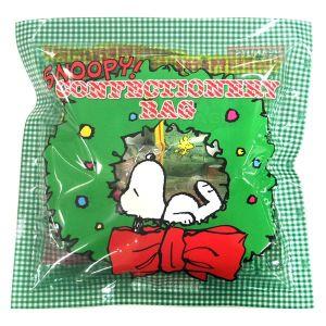 スヌーピー クリスマスコンフェクショナリーバッグ