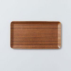 テーブルトレイ 22×12cm チーク KINTO/キントー