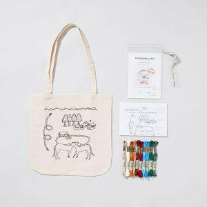 刺繍トートバッグキット HOUSE / Giiton