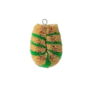 亀の子束子 シマシマミニN 緑