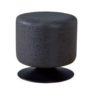 ラウンドスツール ブラック