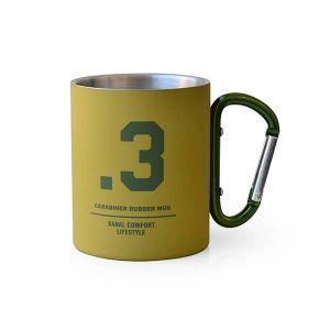 カラビナマグカップ タン×オリーブ