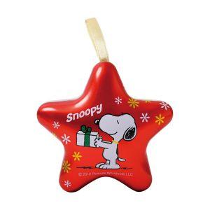 スヌーピーオーナメント缶 スター