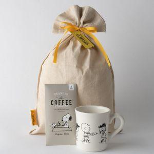 【ギフトセット】スヌーピーマグ&コーヒー(FRIENDS)