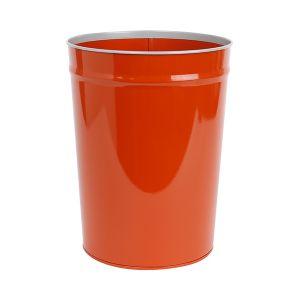 テーパーバケット オレンジ×グレー