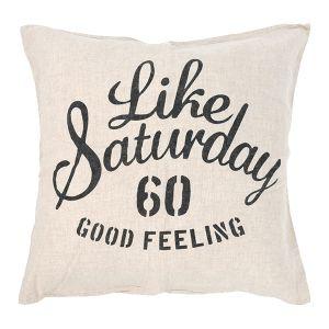 Like Saturday クッションカバー 60×60 リネン