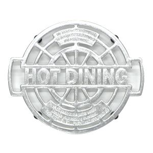 アルミの鍋敷き / ALUMI TRIVET HOT-DIN