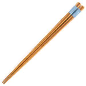 箸 とんぼ玉 ブルー
