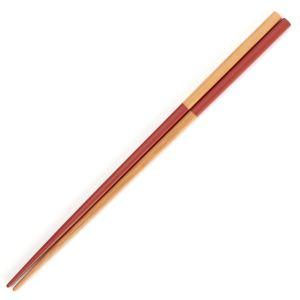 箸 竹市松 レッド