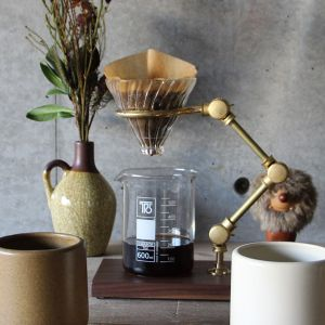 The Coffee Registry Curator pour over stand