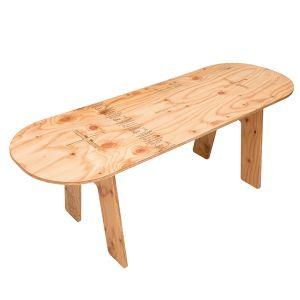 【送料無料】YOKA パネルロングテーブル