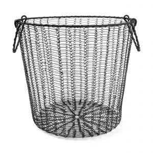 I-LINK ワイヤーバスケット L ブラック