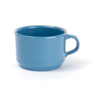 CHEERFUL モーニングマグ ブルー