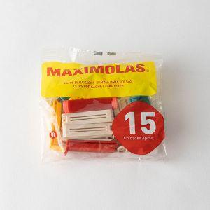 Maximolas フードクリップ 15個入り
