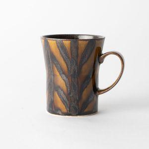 Folkdesign マグカップ 矢羽飴釉