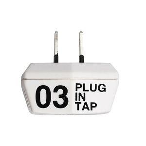 PLUG IN TAP 03×2SET ホワイト