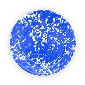 CROW CANYON / クロウキャニオン フラット サラダプレート ブルー