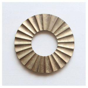 FUTAGAMI/二上 鍋敷き 太陽(フタガミ 大治将典 真鍮)