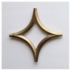 FUTAGAMI/二上 鍋敷き 星(真鍮 大治将典 フタガミ)
