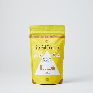 三角茶袋 むぎ茶 / 一保堂茶舗