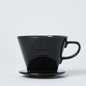 Kalita/カリタ 陶器製コーヒードリッパー ブラック