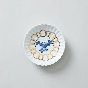 amabro/アマブロ MAME 豆皿 椿紋輪花