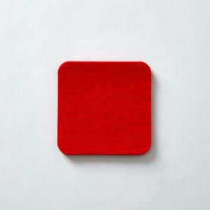 Fabrikant/ファブリカント ウールコースター レッド
