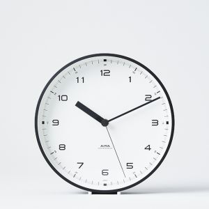 Lemnos Urban clock ブラック
