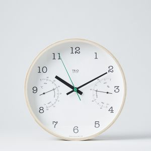 Lemnos TRiO WALL CLOCK
