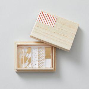 toumei/トウメイ  箔hashioki 5個セット 「は」