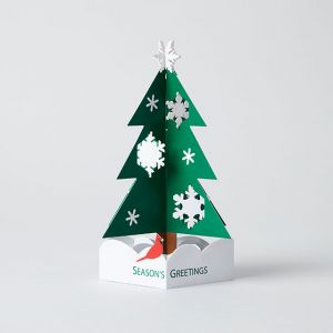 MoMA X'mas カード Snowy Pine