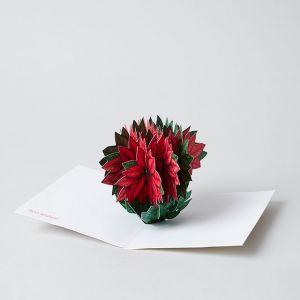 MoMA X'mas カード Poinsettia
