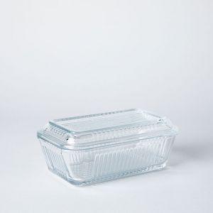 PASABAHCE/パサバチェ ガラス製バターケース