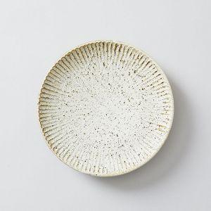 SHINOGI 6寸皿 土灰釉 / 向山窯×TODAY'S SPECIAL