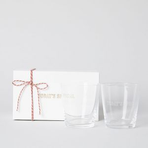 【GIFT SET】GLASS OLD ペア BOXセット