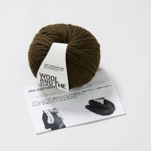 ARM KNITTING KIT スヌード ・ カーキグリーン / WOOL AND THE GANG