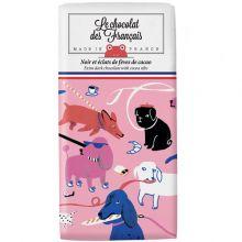 Le chocolat des Francais / ル・ショコラ・デ・フランセ ダークカカオニブ