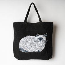 松尾ミユキ トートバッグ FURRY CAT