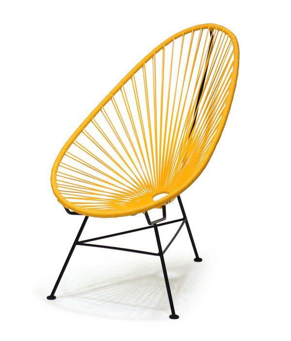 Acapulco Chair<MUSTARD>