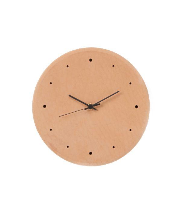 Leather clock <natural> / Hender Scheme(エンダースキーマ)